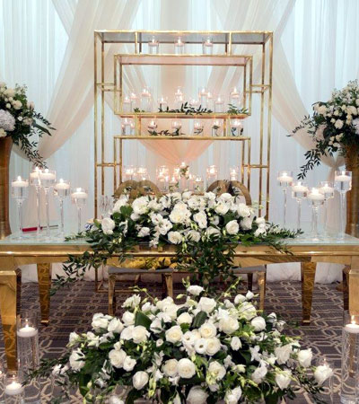 Wedding: Head Table